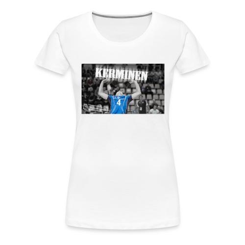 Kerminen t-paita (Naisten) - Naisten premium t-paita
