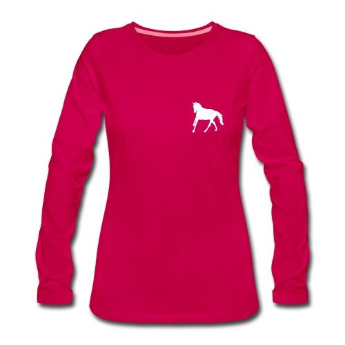 Longsleeve Shirt - Frauen Premium Langarmshirt