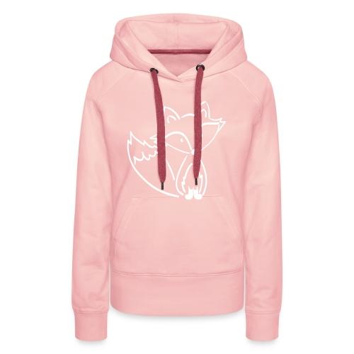 Fuchsi - Frauen Premium Hoodie