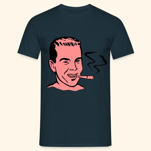 Vintage Retro smoker - T-shirt Homme