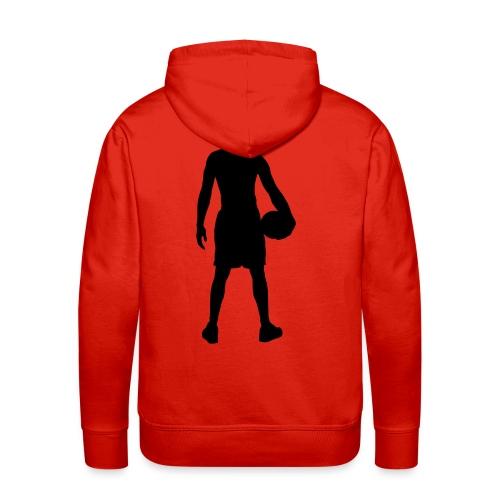 trui met basketball print - Mannen Premium hoodie