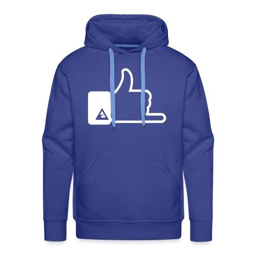 trui met print - Mannen Premium hoodie