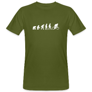 T-Shirts ~ Männer Bio-T-Shirt ~ Evolution Bike Organic