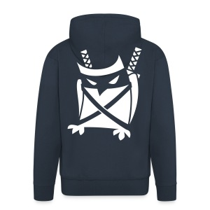 Ninja Hoodie - Männer Premium Kapuzenjacke