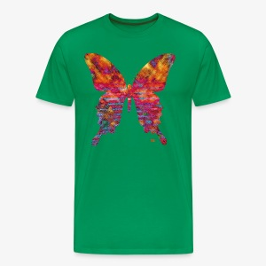 Papillon arc-en-ciel - Men's Premium T-Shirt