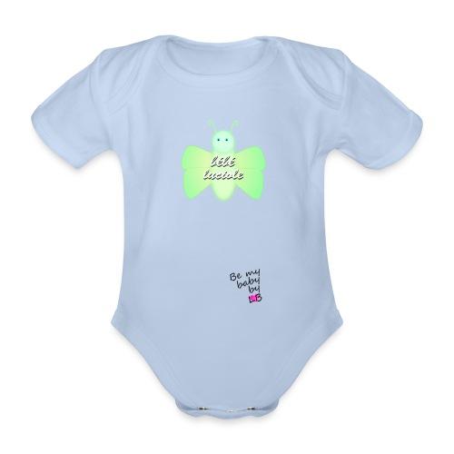 Body luciole - Body bébé bio manches courtes