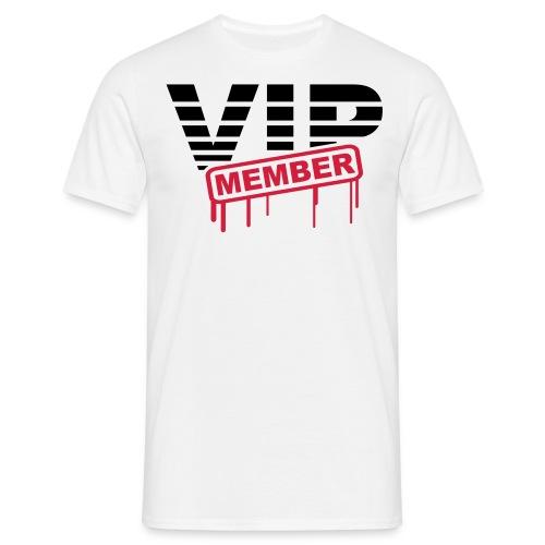 VIP member voorkant - Mannen T-shirt