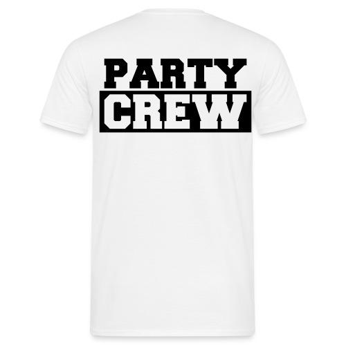 Party crew achterkant - Mannen T-shirt