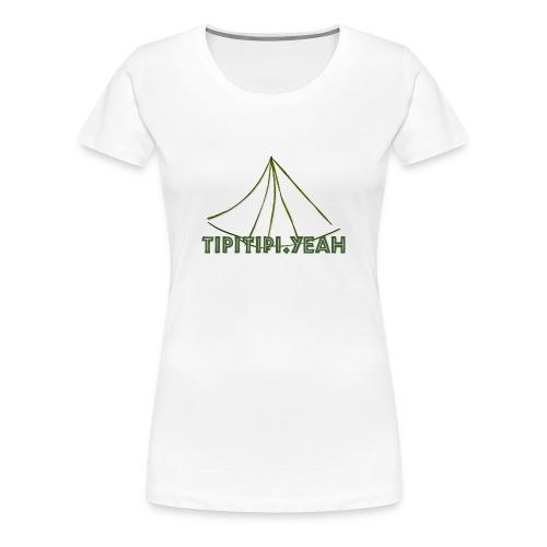 TipiTipi.yeah Frauen Premium T-Shirt - Frauen Premium T-Shirt