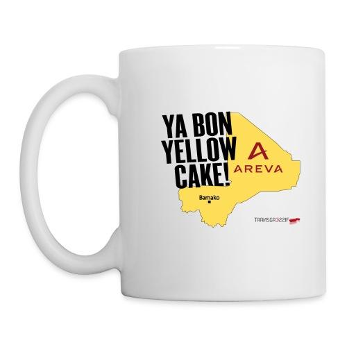 MUG ya bon yellow cake - Mug blanc