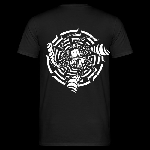 Spiral-Born-Bot T - Men's T-Shirt