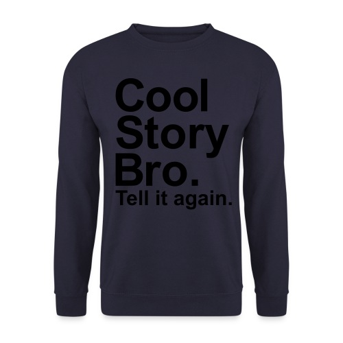 cool story trui - Mannen sweater
