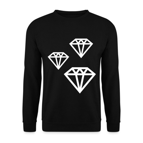 trui met diamant print - Mannen sweater