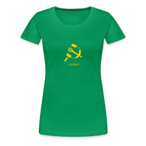 Softday headphone/mic logo - Women's Premium T-Shirt