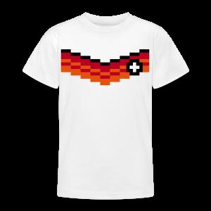 8-Bit-Soccer (back- and frontprint) - Teenage T-shirt
