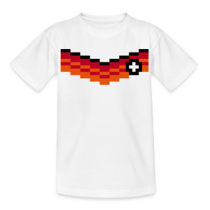 8-Bit-Soccer (back- and frontprint) - Teenage T-shirt
