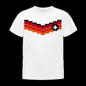 8-Bit-Soccer (back- and frontprint) - Kids' T-Shirt