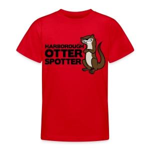 Harborough Otter Spotter Teens Tshirt - Teenage T-shirt