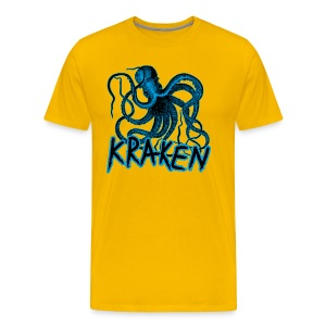 Kraken - The octopus monster - Men's Premium T-Shirt