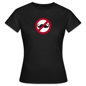 Hipsters go away - Women's T-Shirt