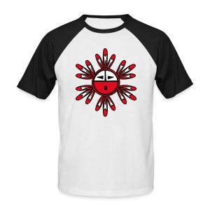Hopi native american kachina symbol - Men's Baseball T-Shirt