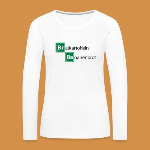 Br Ba Premium Frauen Langarmshirt - Frauen Premium Langarmshirt