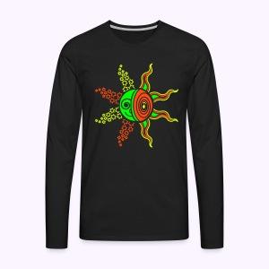 Sun-Moon-Stars DNA Longsleeve U  - Mannen Premium shirt met lange mouwen