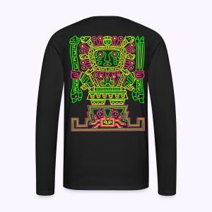 VIRACOCHA Men's Longsleeve Shirt 2-side Print - Mannen Premium shirt met lange mouwen