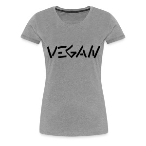 Vegan Graffiti 2 - Frauen Premium T-Shirt