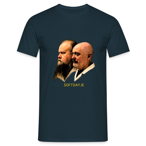 Listeners of the World, Unite! - Men's T-Shirt