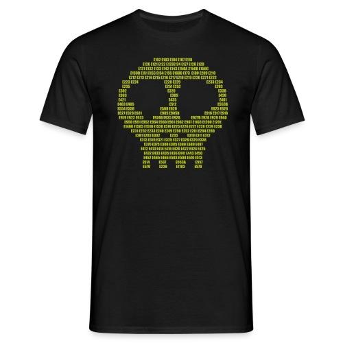E - aditives skull - Men's T-Shirt