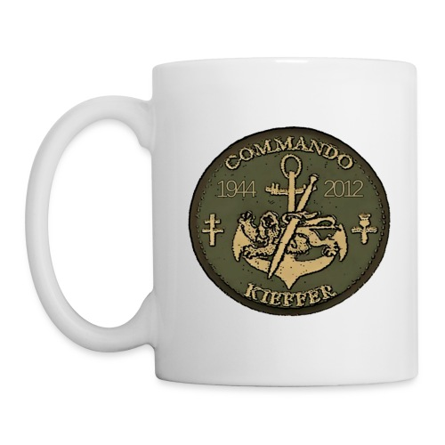MUG commando Kieffer - Mug blanc