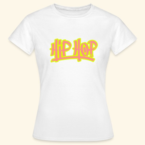 hip hop graffiti - T-shirt Femme