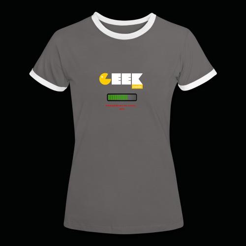Mode geek - Femme - T-shirt contrasté Femme