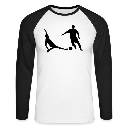 duel  - Mannen baseballshirt lange mouw