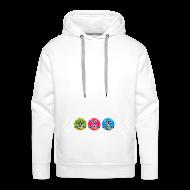 Hoodies & Sweatshirts ~ Men's Premium Hoodie ~ W3Training_Badges_Hoodie