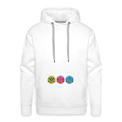 W3Training_Badges_Hoodie - Men's Premium Hoodie