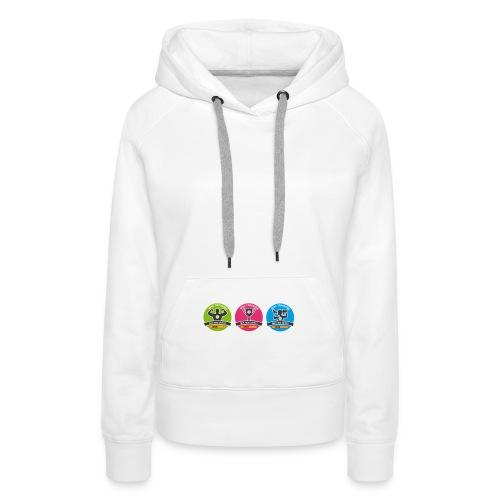 white_sweet - Women's Premium Hoodie