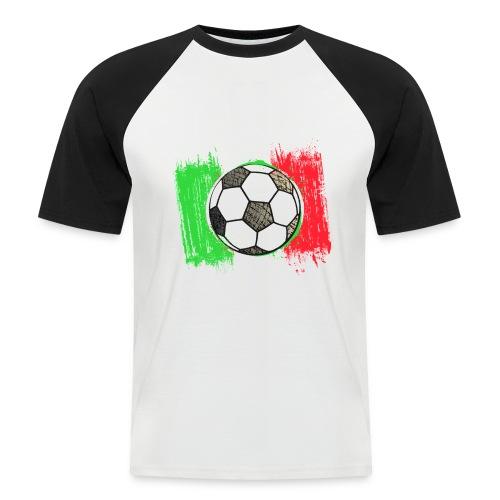 italie fan 2  t-shirt - Mannen baseballshirt korte mouw
