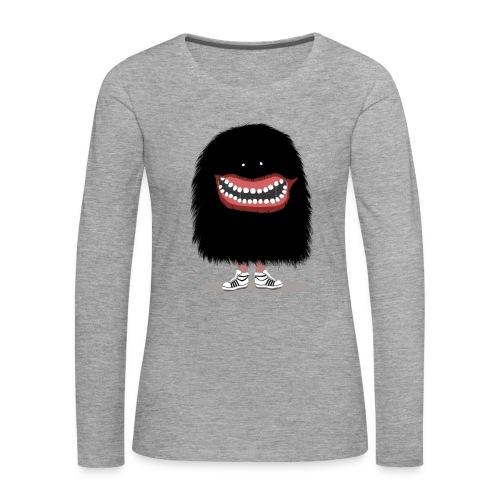Monster Smile - Frauen Premium Langarmshirt