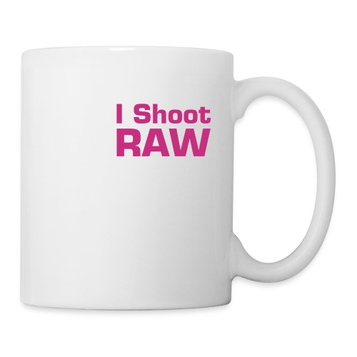 I shoot Raw - Tasse