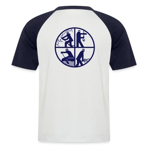 Norderney Feuerwehr Logo - Männer Baseball-T-Shirt