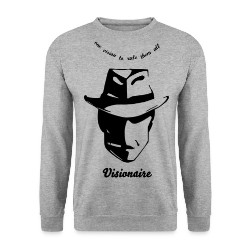 one vision to rule them all visionaire - Mannen sweater