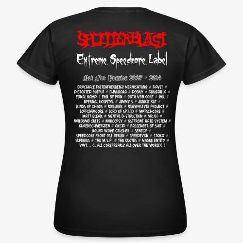 Splitterblast Records Forever Women's T-Shirt  - Women's T-Shirt