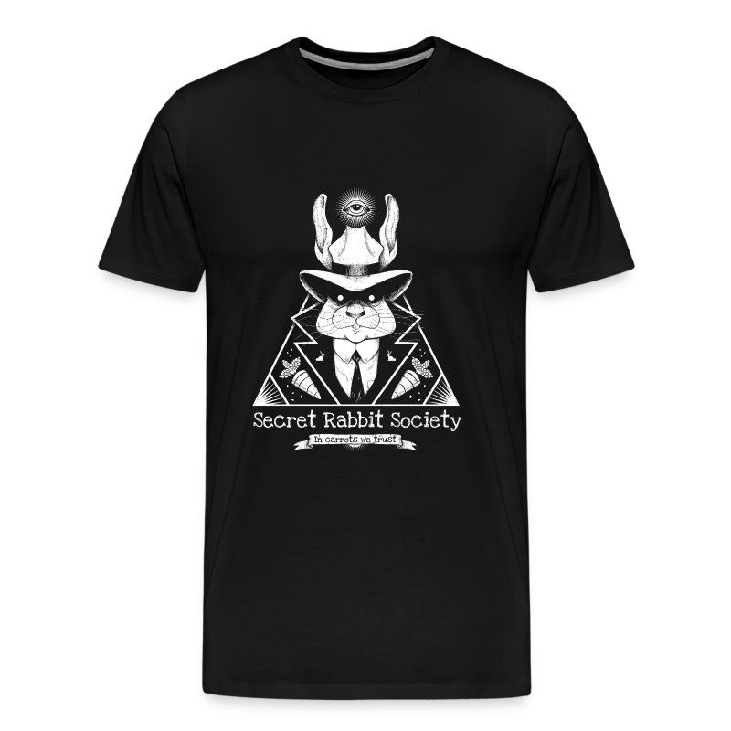 The Secret Rabbit Society - Men's Premium T-Shirt