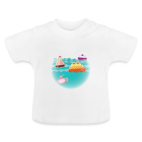 Camiseta barquitos - Camiseta bebé