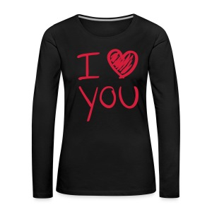 I love you  - Women's Premium Longsleeve Shirt
