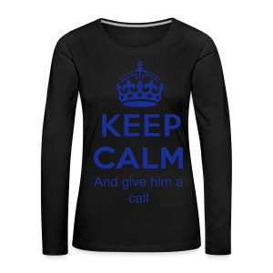 Call him...... - Women's Premium Longsleeve Shirt