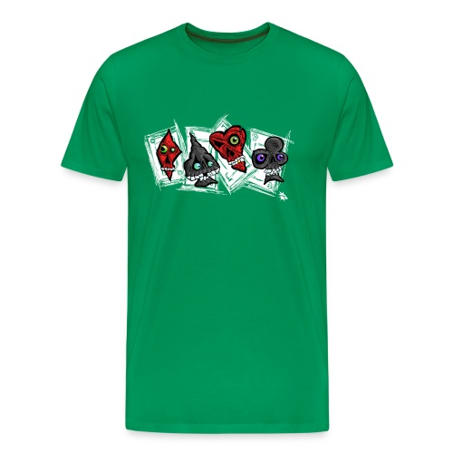 Poker Faces - Men's Premium T-Shirt