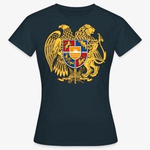 Armenien Wappen Armenia Армения Герб Wappen Frauen T-Shirt - Frauen T-Shirt